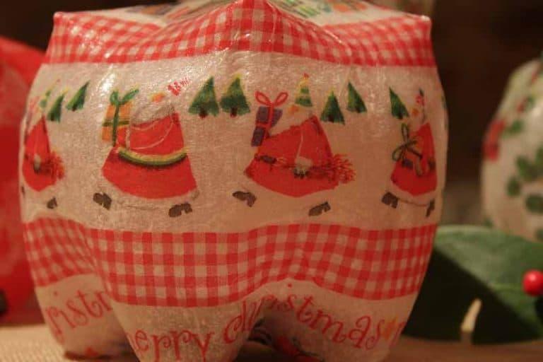 «Klikety Klik Box Noël» - une bouteille recyclée!