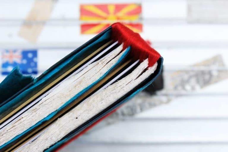 """Carnet PELERIN """"Andalouse"""" de voyage & d'écriture. Papier Lokta. NEPAL. Lamali."""