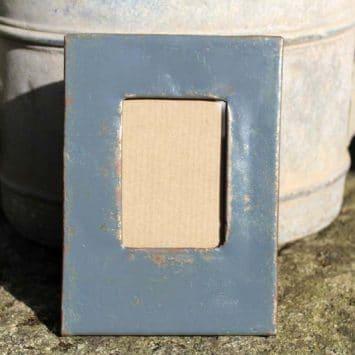Cadre photo A POSER en fût de métal recyclé, Ramsa 5