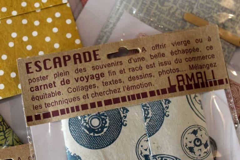 Carnet de voyage Escapade Bambou: une idée cadeau très chic et originale!
