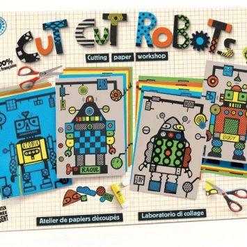 Cut Cut Robots- Loisirs créatifs pour enfant, tout seul ou en groupe! Mitik (France).