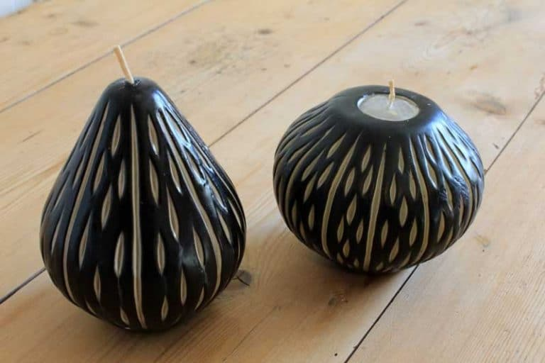 Swazi candle. Handmade. Commerce équitable. (Swaziland) Afrique.