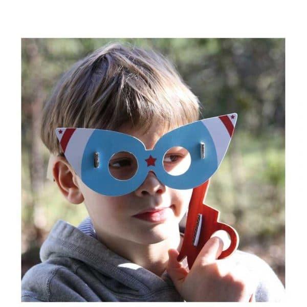 4 lunettes de star à assembler ( DIY). Carton. France.
