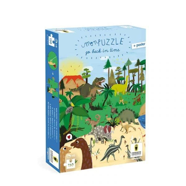 Puzzle Dinosaure- Retour au Jurassique.
