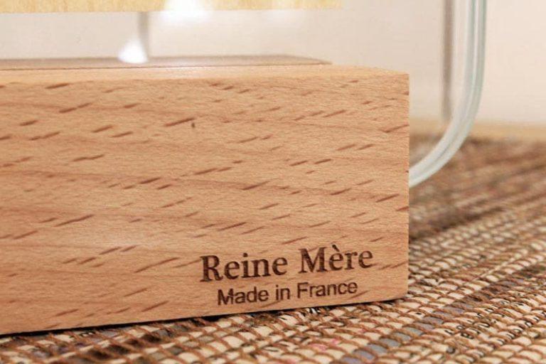 Cadre verrière à poser. verre et bois. France.