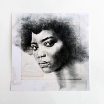 """""""Kobown"""". Carte postale, sur Papier d'art. Stéphanie Ledoux."""