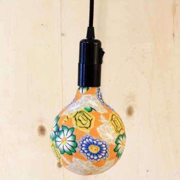Baladeuse + Ampoule Led fleurie. Douille E27.