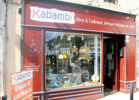Vitrine de Kabambî
