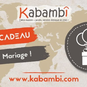 Carte cadeau Kabambi Mariage
